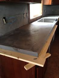 Quikrete Self Leveling Floor Resurfacer by Diy Concrete Counters Poured Over Laminate Averie Lane Diy