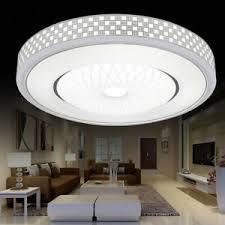 details zu moderne led decken leuchte runde unterputz leuchte für wohnzimmer