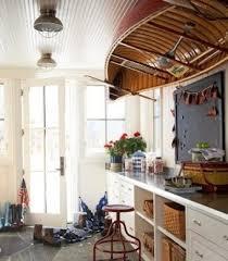 Nautical Decor Traditional Family Room