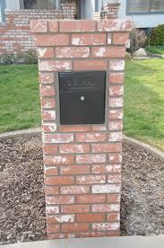 100 Letterbox Design Ideas Brick Install Mailbox WIRING DIAGRAMS