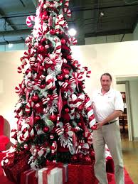 Associated Groups Candy Cane Christmas Tree