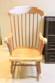 Grandpa's Rocking Chair Brightened Up For New Baby Nursery. - The ... Amazoncom Jackpost Kn10n Classic Childs Porch Rocker Natural Antique Rocking Chairs Seat Pastrtips Design Rocker Vintage Rocking Chair Cane Seat Antique Etsy Refishing A Chair Between3sisters Garden Tasures Wood With Slat At Lowescom Fding The Value Of A Murphy Thriftyfun Is Good The Hot Bid Whats It Worth Circa 1900 Wooden Oak High Back Spindled What Is It Worth