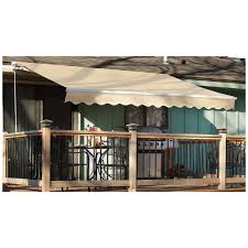 CASTLECREEK Retractable Awning - 234396, Awnings & Shades At ... Outdoor Marvelous Retractable Awning Patio Covers For Decks All About Gutters Deck Awnings Carports Rv Shed Shop Awnings Sun Deck A Co Roof Mount Canopy Diy Home Depot Ideas Lawrahetcom For Your And American Sucreens Decor Cozy With Shade Pergola Design Magnificent Build Pergola On Sloped Shield From The Elements A 12 X 10 Sunsetter Motorized Ers Shading San Jose