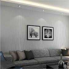 moderne mode gestreifte tapete luxus wohnzimmer silber grau