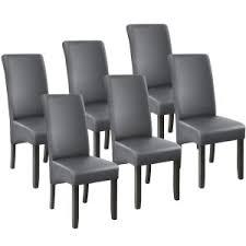 6 esszimmerstühle ergonomisch massives hartholz grau