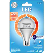 ge 40 watt equivalent uses 4 watts daylight a15 ceiling fan sm