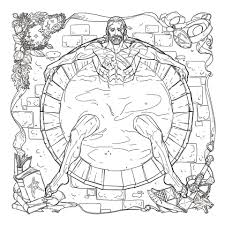 The Book Will Consist Of 96 Pages To Color And Feature Art From Artists Marianna Strychowska Yu Chen Tang Scott Wade