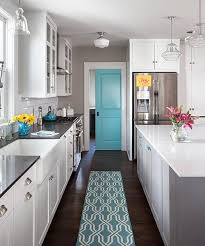 A Pocket Door Punched Up With Aqua Paint Closes Off This Laundry Room