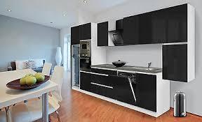 küchenzeile küche küchenblock grifflos einbauküche 395 cm