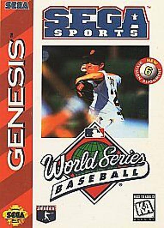 World Series Baseball - Sega Genesis