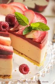 dessert aux fruits d ete bavarois tout léger aux fruits d été recette sans gluten sans