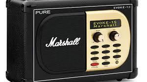 evoke 1s marshall dab radio radios produkte