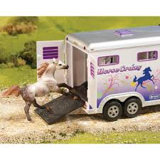 Breyer Horse Crazy Truck & Trailer - 5369 - Wyldewood Tack Shop Bruder 029 Cattle Trailer With 1 Cow New Factory Sealed 2029 Corgi Diecast Mack B Series Breyer Delivery Van 98453 Good Ebay Truck Gooseneck Horze Breyer Traditional Series Dually Truck 2614 Running Creek Horse Crazy And Toysrus 2611 Large 19 Scale Trailer For The Traditional Pickup Millbry Hill Classic Crusier Stablemates Sm Horse Transporter Pickup Toys Gifts The Tack Trunk Set B5350 132 Scale