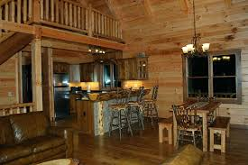 Cabin Rentals In Ohio A View The Fully Equipped Kitchen And