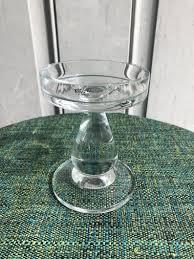 100 Poland Glass Krosno Candle Holder