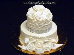Small Beautiful Wedding Cake Elegant 478 By Las Vegas Custom Cakes