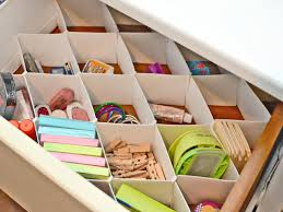 Desk Drawer Organizer Diy by Easy Stylish And Functional Diy Drawer Dividers Diy Network