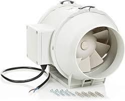 rohrventilator abluftventilator 125mm hg power inline lüfter