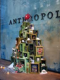 Christmas Tree Shop Woodland Park Nj by Anthropologie Holiday Windows 2010 Christmas Window Display