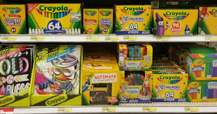 target shoppers score a whopping 50 off lots of crayola products