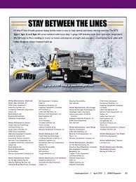 100 Truck Equipment Inc 201604 Reporteronline By American Public Works Association Issuu