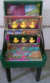 The Rubber Duck Knock Down Carnival Game Rental Features Everyones Favorite Little Yellow Ducks Combined With A Bean Bag Toss Hunt Games For