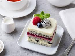 zuckerfreies rezept saftiger kokos mohn kuchen mit pudding