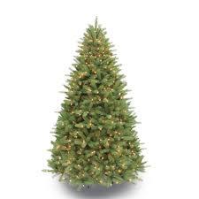 Pre Lit Incandescent Douglas Fir Premier Artificial Christmas Tree With 550 UL