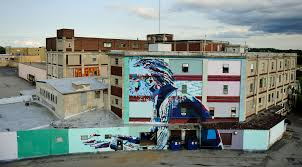 Philly Mural Arts Map by Wall Therapy A Public Community Level Intervention Using Mural