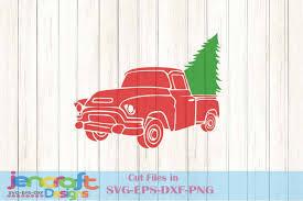 100 Antique Truck Christmas SVG Vintage Truck SVG Classic Truck