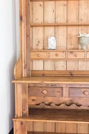 a welsh dresser u0026 reviving wood finding silver pennies
