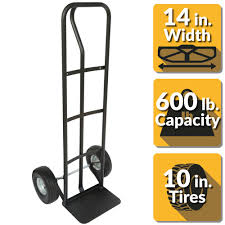 100 Capacity Trucks OLYMPIA 600 Lbs PHandle Truck85004 The Home Depot