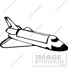 Space Shuttle Rocket Clipart by DJArt