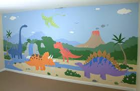 Childrens Dinosaur Mural Decoration