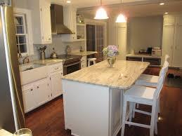 Backsplash Ideas White Cabinets Brown Countertop by Kitchen Contemporary White Kitchen Cabinets With Dark Floors