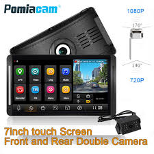 100 Truck Gps System Z7 Recorder ADAS GPS 7inch Monitor With Rear Camera