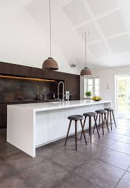The Natural Stone Wall Over Kitchen Table Has A Nice Structure And Is Beautiful For In Smoked Oak Loft Lamps Are Old Street