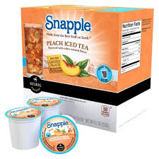 SnappleR Peach Iced Tea