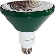 illumin8 i8par38 deco gr par38 green led light bulb non dimmable