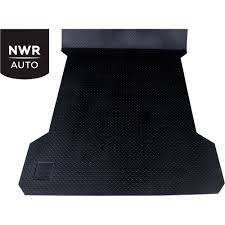 100 Rubber Mat For Truck Bed Black Armour Universal Contoured Pickup 7501inL X