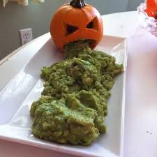 Picture Of Pumpkin Throwing Up Guacamole by 40 Terrific Halloween Food Ideas For A Spooky Halloween Party