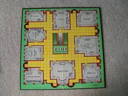Clue Game Board 1949
