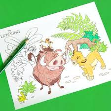 Lion King Coloring Pages Online Game Of The Free Disney