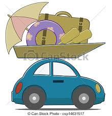 Car Travel Stock Illustration
