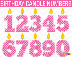 Birthday Clipart Candle Clipart Birthday Clip Art Candle Clip Art Girl Clip Art Clipart Birthday Number Clip Art