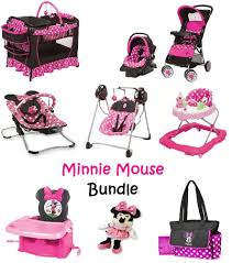 Evenflo Majestic High Chair Seat Cover by Minnie Mouse Newborn Set Baby Bundle Gift Pink Stroller Play Yard