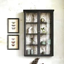 Wall Glass Cabinet Wall Mounted Glass Display Cabinet 600mm