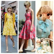 Taylor Swift Vintage Fashion
