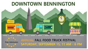 100 Food Truck News First Annual Bennington Festival Planned For September