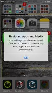 How to restore iPhone after updating to iOS 7 or iOS 8